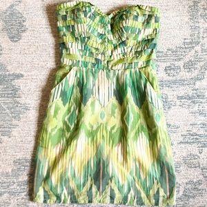 Charlie Jade Strapless Dress - Size M